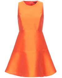 Tara Jarmon Kurzes Kleid - Orange