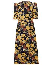 Sea 3/4 Length Dress - Black