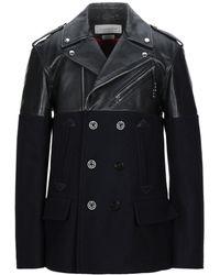 Alexander McQueen Coat - Black