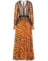 Silvian Heach Long Dress - Orange