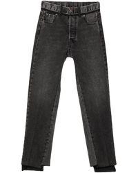 Maison Margiela Denim Trousers - Black
