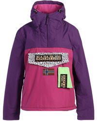 Napapijri Jacket - Purple