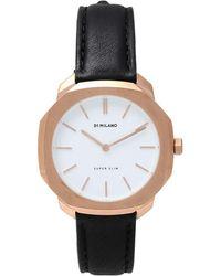D1 Milano Armbanduhr - Schwarz