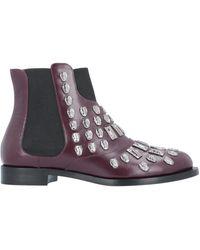 Samuele Failli Ankle Boots - Purple