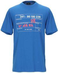 DIESEL Camiseta - Azul