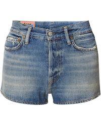 Acne Studios Denim Shorts - Blue