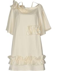 Paskal Short Dress - White