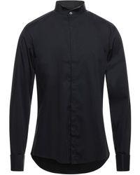 Grey Daniele Alessandrini Camisa - Negro