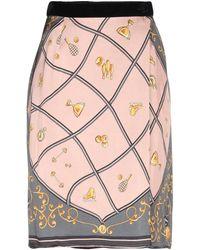 Shirtaporter Midi Skirt - Pink