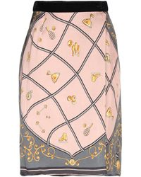 Shirtaporter Knee Length Skirt - Pink