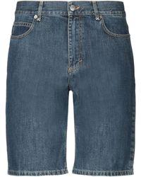 JW Anderson Short en jean - Bleu