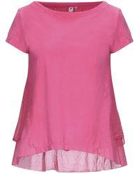 European Culture T-shirt - Rosa