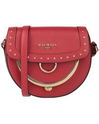 Balmain Cross-body Bag - Red