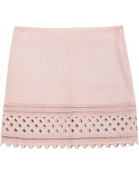 Jitrois Mini Skirt - Pink