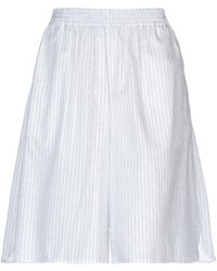 MM6 by Maison Martin Margiela Bermuda Shorts - White