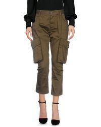 DSquared² Pantalone capri - Verde
