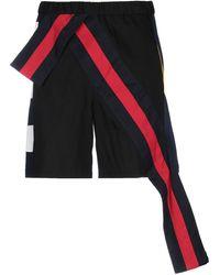 Facetasm Bermuda Shorts - Black