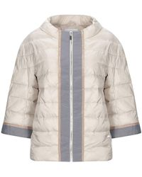 CafeNoir Synthetic Down Jacket - Natural