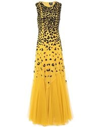 Class Roberto Cavalli Long Dress - Yellow