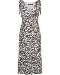 ANDAMANE 3/4 Length Dress - White