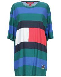Tommy Hilfiger Flag Rugby Stripe T-shirt - Pink