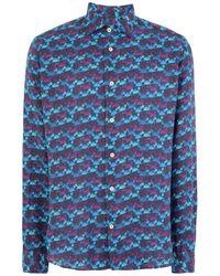 Drumohr Shirt - Blue