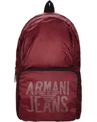 Armani Jeans Mochilas y riñoneras - Rojo