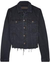 GRLFRND Denim Outerwear - Black