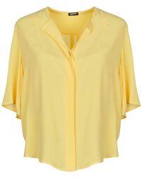 Jil Sander Navy Shirt - Yellow