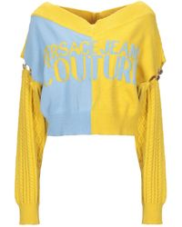 Versace Jeans Couture Jumper - Yellow
