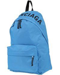 Balenciaga Backpacks & Bum Bags - Blue