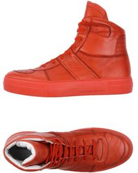Savio Barbato High-tops & Trainers - Red