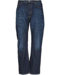 Acne Studios Pantalon en jean - Bleu