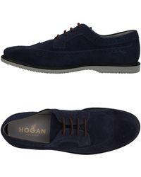 Hogan Lace-up Shoe - Blue