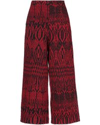 Attic And Barn Pantalones - Rojo