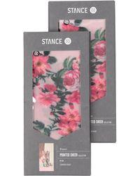 Stance Short Socks - Pink