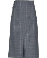 Balenciaga 3/4 Length Skirt - Blue