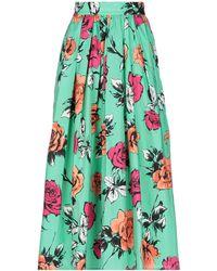 MSGM Long Skirt - Green