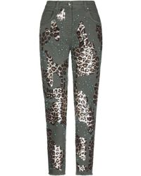 Blumarine Denim Trousers - Multicolour