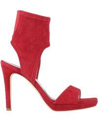 Alluminio Sandals - Red