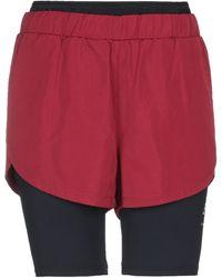 Karl Lagerfeld Bermuda Shorts - Red