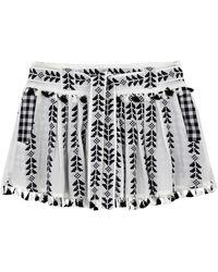 Dodo Bar Or Mini Skirt - White
