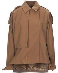Lacoste Overcoat - Brown