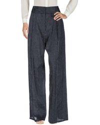 Beaufille Pantalones - Azul