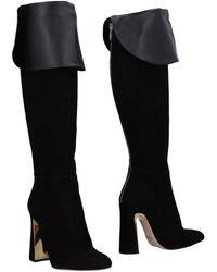 Sebastian Knee Boots - Black
