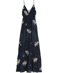 Haute Hippie Langes Kleid - Blau