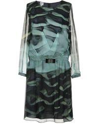 Armani Midi Dress - Green