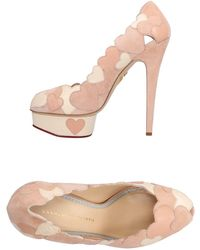 Charlotte Olympia Court - Pink
