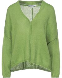 European Culture Cardigan - Green
