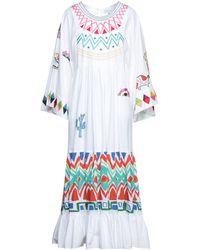 Mira Mikati Long Dress - White
